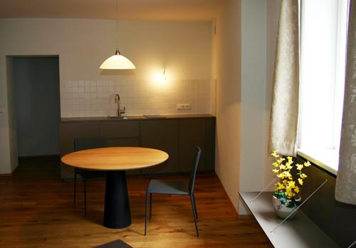 Küche Apartment Hotel Zwettlerhof