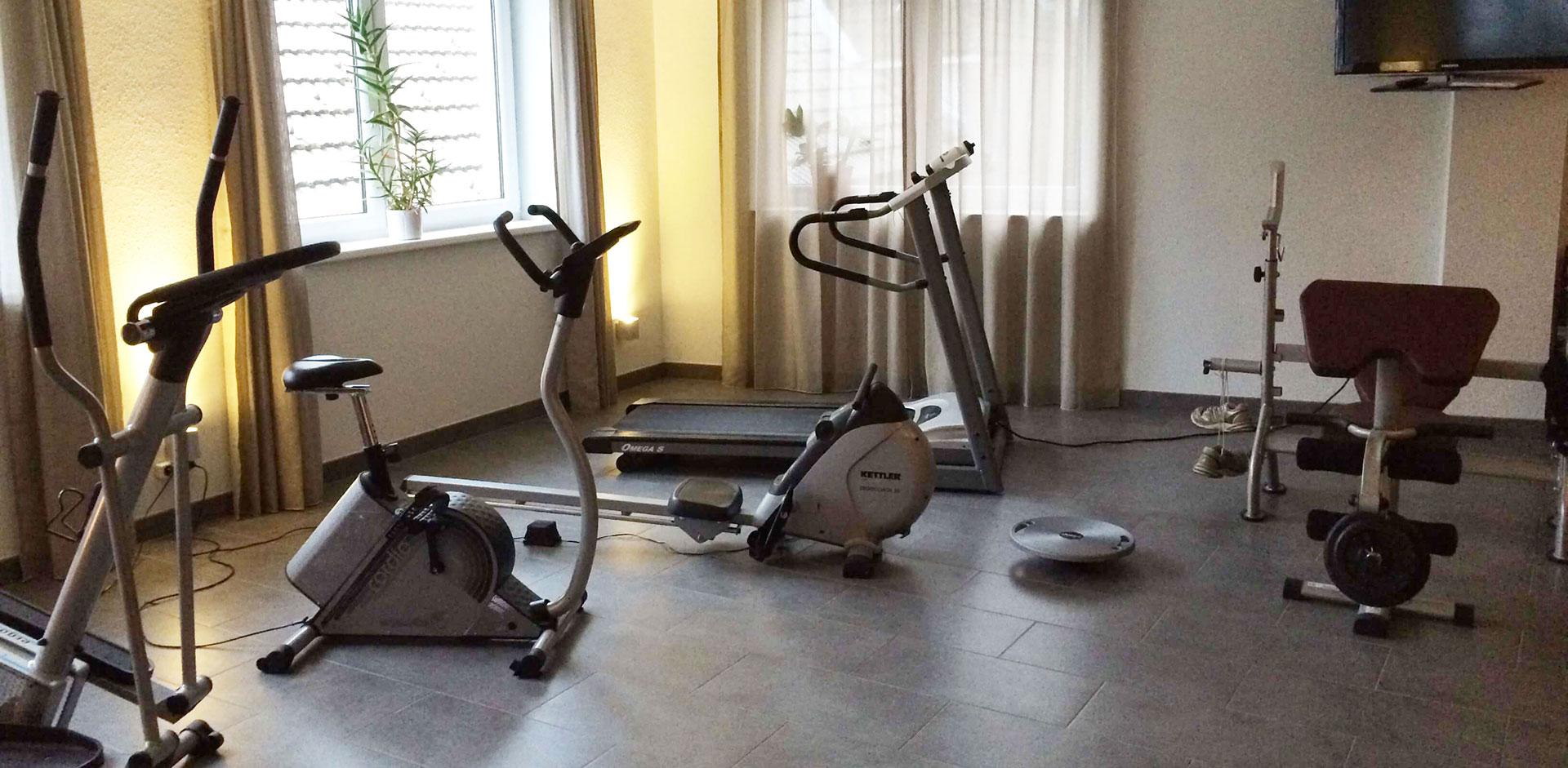 Fitnessraum Hotel Zwettlerhof
